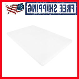 Large 18 x 12 0.5 Inches Commercial Plastic Cutting Board NS
