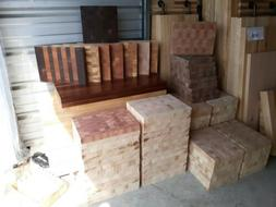 Made in USA! End Grain butcher Block Cutting boards maple, a