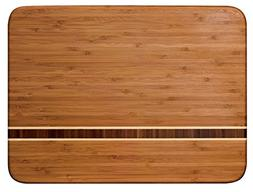 Totally Bamboo Martinique Bamboo Serving and Cutting Board,