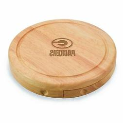 NFL Green Bay Packers Brie Cheese Board/Tool Set, 7-1/2 Inch