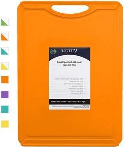 Vettore Non Slip Poly Cutting Boards With Juice 15