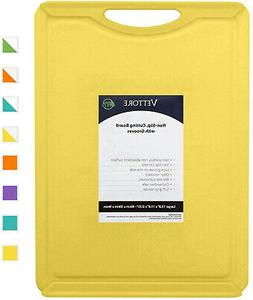 Vettore Non Slip Poly Cutting Boards With Juice Groove Dishw