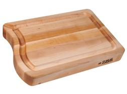 John Boos Patriot Maple Wood Edge Grain Reversible Cutting B