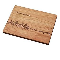 Personalized Cutting Board - Memphis Skyline