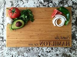 Personalized by Name Cutting Board for Kitchen - Wood Cuttin