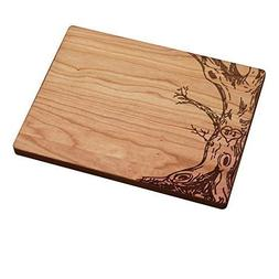 Personalized Cutting Boards - Tree Carving Initials