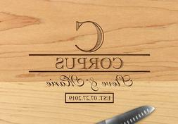 Personalized Kitchen Wood Cutting Board Wedding,Housewarming