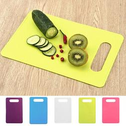 Plastic Cutting Board Home Kitchen Vegetables Fruits Anti Sl