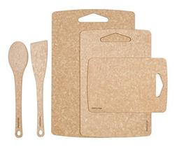 Prep Series 5-Piece Set by Epicurean: 3pc Prep boards and 2p