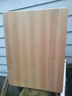 Reversible Blonde Bryce Boards Maple Cutting Board Butcher C