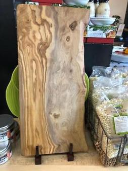 Rustic Cutting Board Olive Wood