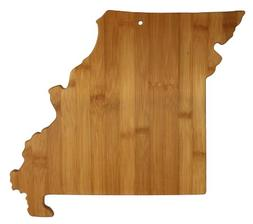 Totally Bamboo State Cutting & Serving Board, Missouri, 100%