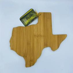 Totally Bamboo State of Texas Shape Cutting Board Cheese Ser