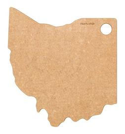 """Epicurean State of Ohio Cutting and Serving Board, 11 by 10"""""""