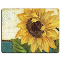 Highland Graphics Sunshiny Day Tempered Glass Cutting Board,