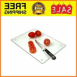 Tempered Glass Cutting Board – Long Lasting Clear – Larg