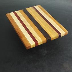 Upstate NY Cutting Board 8.5 x 10 x 1 Mixed Hard Wood, Padau