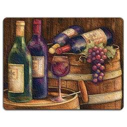 Highland Graphics Wine Cellar Tempered Glass Cutting Board,