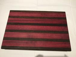 wood cutting board dining gift home BBQ kitchen handmade Fat