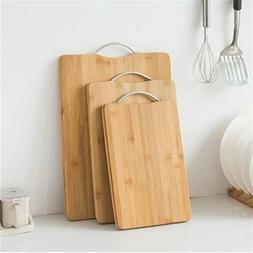Wooden Chopping Board Home Kitchen Durable Cutting Rectangle